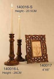 wooden candle holder indian artware corporation limited plot no m 14 2nd floor market greater kailash ii new delhi india