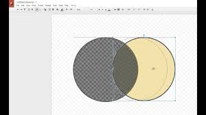 How To Make A Venn Diagram On Google Drawing Adding Color To A Venn Diagram In Google Drawing Youtube