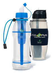 portable water filter bottle. WHY USE FILL 2 PURE Portable Water Filter Bottle