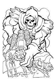 He Man Coloring Pages Printable Free