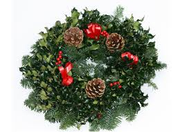 Image result for christmas holly wreaths