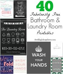 Free Printable Bathroom Art New 48 Fabulously Free Bathroom Laundry Room Printables