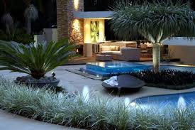Small Picture Swimming pool with glass wall creates a relaxed atmosphere in the