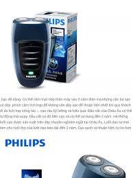Máy cạo râu du lịch cao cấp PHILIPS PQ190 - Hàng Nhập Khẩu (Đời cao hơn  pq206 pq205 pq216 ) - Bảo hành 24 tháng - Sạc tíhc hợp trên thân