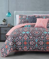 Best 25+ Coral bedspread ideas on Pinterest   Girls twin bedding ... & Loving this Coral Ibiza Quilt Set on #zulily! #zulilyfinds Adamdwight.com