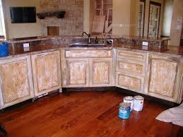pretty distressed kitchen cabinets