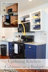 Update Kitchen How To Update Kitchen Cabinets On A Budget Sweet Tea Saving Grace