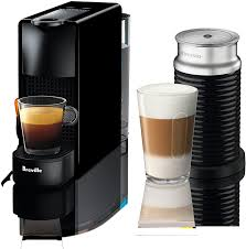 With these coffee makers, we can brew coffee in less time and no need to take much risk in brewing. Breville Nespresso Essenza Mini Coffee Maker With Aeroccino 3 Milk Frother Piano Black Nezmart