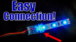 Can You Connect Led Light Strips Together How To Connect Led Strips To Wires Using Led Strip Connectors
