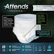 Attends Premier Pull On Heavy Absorbency Disposable Underwear