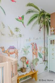 Babykamer Behang Met Palmbomen En Kamelen Van Creative Lab Amsterdam