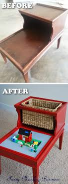furniture makeover ideas. Clever Lego Table Made Out Of An Old Furniture Makeover Ideas