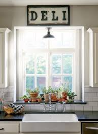 kitchen window sill decor.  Kitchen New Construction With Curated Charm In Texas  DesignSponge Window Seal  Herb Garden On Kitchen Sill Decor A