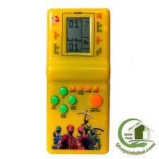 Máy Chơi Game 4 Nút Huyền Thoại BENRIKIDS-GAME (Màu Ngẫu Nhiên) - Đồ chơi  phát nhạc và nhạc cụ