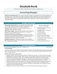 Sample Accounting Manager Resume Ideas Collection Sample Accounting Manager Resume Awesome 39