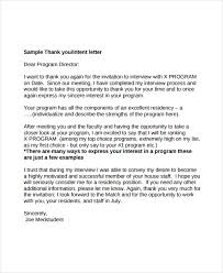 Ideas Of 3 Thank You Letter After Interview Templates Free Sample