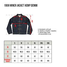 Pike Brothers 1908 Miner Jacket 14oz Hemp Denim Lipstick