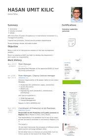Plant Manager Resume Samples Visualcv Resume Samples Database