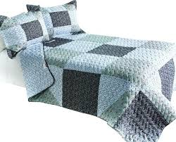 simple life cotton vermicelli quilted patchwork quilt 3 piece set queen sets cover king size quee