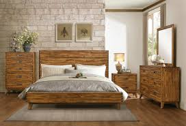 platform bedroom set. homelegance sorrel panel platform bedroom set - rustic q