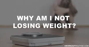 why am i not losing weight