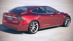 2018 tesla p100d. fine tesla 4 tesla model s p100d 2018 royaltyfree 3d model  preview no inside tesla p100d e