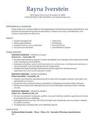 Professional Resume Samples For Every Industry My Perfect