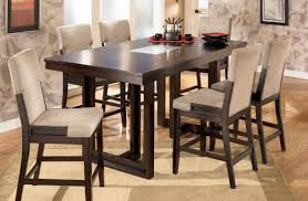Kitchen Marble Counter Height Dining Set Round Marble Dining
