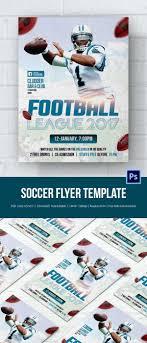 soccer flyer psd format soccer event flyer template