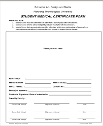 13 Sample Medical Certificate For School Sample Templates