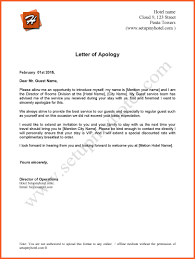 Letter Of Apology Example 2424 Letter Of Apology Kfcresume 10