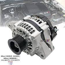 Amazon.com: 100A Alternator For Toyota Hilux VIGO D4D KUN16 KUN26 ...