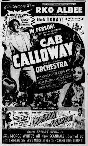Cab Calloway - The Hi de Ho Blog - Posts   Facebook