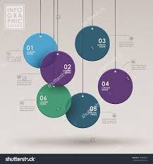 Chart Poster Design Modern Vector Abstract Flow Chart Infographic Elements