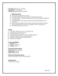 Cashier Job Description Resume 650 842 Restaurant Job