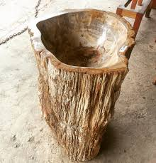 petrified wood sink.  Petrified Petrified Wood Sink With I