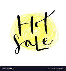 Sale Quote Handwritten Hot Sale Icon Printable Quote