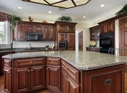 Brown Granite Kitchen Countertops Kitchen Island Designs Layouts Great Lakes Granite Marble