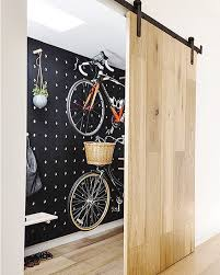 A sliding barn door for the same peg board system in our previous ...