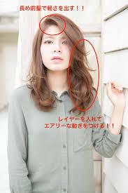 エラ張りベース顔さんが髪型次第でスッキリ小顔にベース顔をカバー
