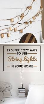 lighting for your home. beautiful your 19 super cozy ways to use string lights in your home with lighting for