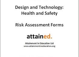 D&t Health And Safety Risk Assessment Forms - D&t Association