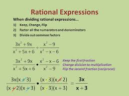 division of rational algebraic expressions worksheets them and try to solve