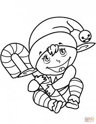 Small Picture Coloring Pages Christmas Elf Coloring Pages Christmas Coloring
