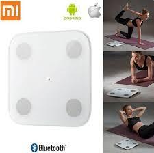 <b>Original Xiaomi Smart</b> Scale 2 White Glass Bluetooth Body <b>Weight</b> ...