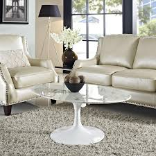 marble top tulip coffee table