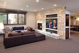 Tile Fireplace Surround Ideas Houzz With Tile Fireplace Ideas Houzz Fireplace