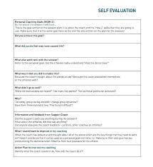 performance feedback form team leader self appraisal job performance evaluation form page 2 3