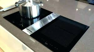 cooktop with vent. Fascinating Stove Downdraft Vent Electric Cooktop With Ventilation System . O