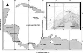 Location Of The Study Area Image Obtained From The Nautical